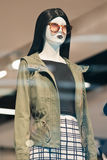 Display mannequin at Livat Shopping mall, Beijing, China Royalty Free Stock Photography