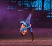 "Display martial arts-Dance drama ""The Dream of Maritime Silk Road"" Stock Images"