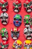 Display of masks Stock Image