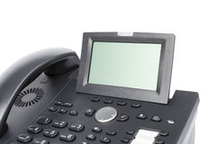 Display of modern business phone Royalty Free Stock Photo