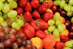 Display Of Fresh Tropical Fruit Royalty Free Stock Images