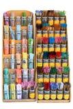 Display Of Incense Sticks Royalty Free Stock Photos