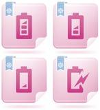 Display Phone Icons Stock Photos