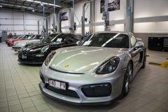 Luxury Car Workshop stock photography