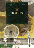 Display of Rolex watches Royalty Free Stock Photography