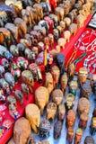 Display of souvenirs at Johari Bazaar in Jaipur, India Royalty Free Stock Images