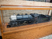 Display in the Station  of the Chattanooga Choo Choo in Chattanooga Tennessee USA Royalty Free Stock Image