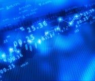 Display of Stock market graph. Digital illustration of Display of Stock market graph Stock Photos