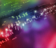 Display of Stock market graph. Digital illustration of Display of Stock market graph Royalty Free Stock Images