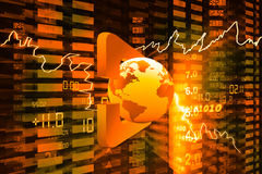 Display of Stock market quotes. Concept Royalty Free Stock Photography