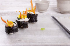 Display of sushi. Stock Image