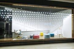 Furniture lighting display window shop window store window. A display window, also shop window British English or store window American English, is a window in a stock photo