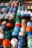 Display of Yarn and Wool Stock Photos