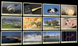 Displays Stock Photo