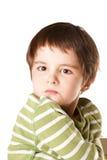displeased малыш Стоковая Фотография