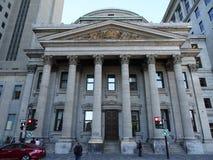 Disponga il ` Armes di d: prima banca di Montreal Fotografie Stock Libere da Diritti
