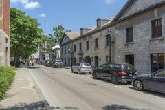 Disponga il d'Youville a vecchia Montreal Immagini Stock Libere da Diritti