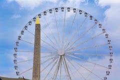 Disponga la La Concorde Obelisque del de a Parigi Immagine Stock Libera da Diritti