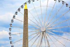 Disponga la La Concorde Obelisque del de a Parigi Immagini Stock Libere da Diritti