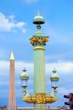 Disponga la La Concorde Obelisque del de a Parigi Fotografia Stock Libera da Diritti