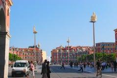 Disponga Massena in Nizza, Francia immagini stock