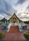 Disponga un vecchio Lanna buddista caro Grande del tempio di Wat Phra-singha Fotografie Stock