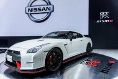 Disponibilidade 2016 limitada de Nissan GT-r NISMO Imagem de Stock