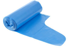 Disposable bags roll Stock Photo