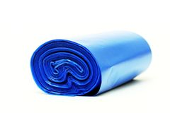 Disposable bags roll Royalty Free Stock Photos