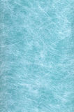 Disposable bed sheet. Texture of blue disposable bed sheet Royalty Free Stock Photo