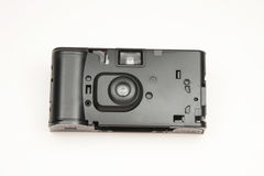 Disposable Camera. Generic disposable black camera on white Stock Photography