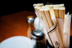 Disposable chopsticks Royalty Free Stock Image