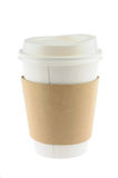 Disposable coffee cup Royalty Free Stock Photography