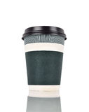 Disposable coffee cup Royalty Free Stock Photos