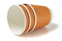 Disposable Coffee Cups Royalty Free Stock Image