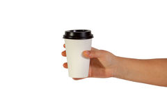 Disposable cup Royalty Free Stock Photos