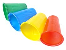 Disposable cups Stock Photography