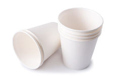 Disposable Cups Stock Image