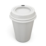 Disposable cups for coffee or tea Royalty Free Stock Images