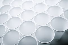 Disposable cups Royalty Free Stock Photography
