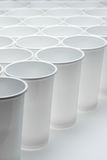 Disposable cups Royalty Free Stock Images