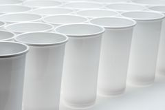 Disposable cups Stock Images