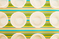 Disposable cups Royalty Free Stock Image