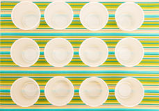 Disposable cups Royalty Free Stock Photos