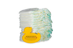 Disposable diapers Stock Photo