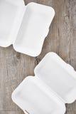 Disposable Food Tray Royalty Free Stock Photos