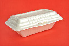 Disposable lunch box Stock Photography