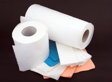 Disposable paper Royalty Free Stock Photo