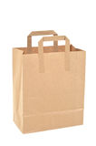 Disposable paper bag Stock Photos
