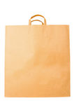 Disposable paper bag Royalty Free Stock Image